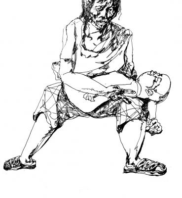 Skizze Menschen
